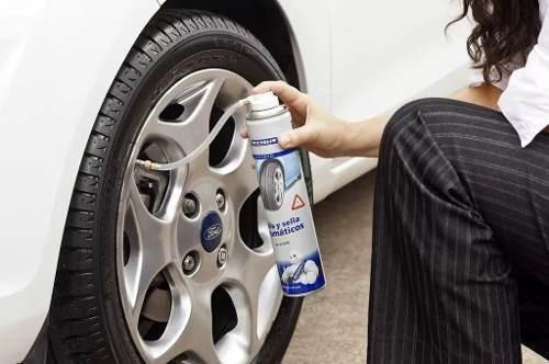 infla sella neumáticos michelin repara pinchaduras