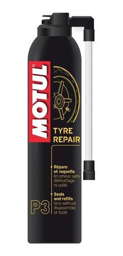infla y repara neumáticos motos motul p3 300ml solomototeam