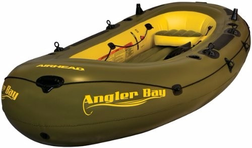 inflable airhead ahibf-06 angler bay 6 person inflatable