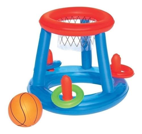 inflable arco basket  bestway  - niños -