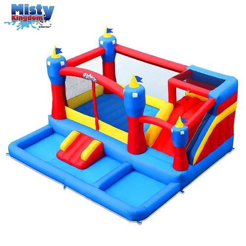 inflable castillo saltarin piscina de pelotas