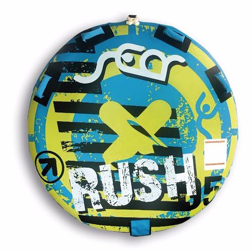 inflable de arrastre plano redondo rush (no envios)