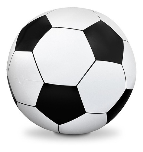 inflable gigante tipo pelota de fútbol