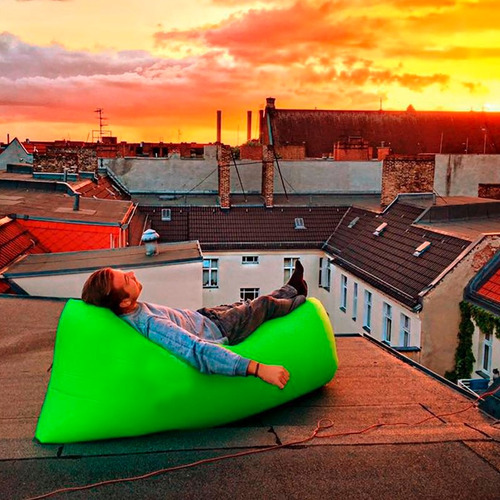 inflable jardin sillon