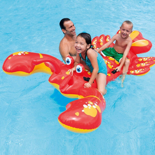 inflable langosta piscina intex 57528 4 asas, 213 x 137 cm
