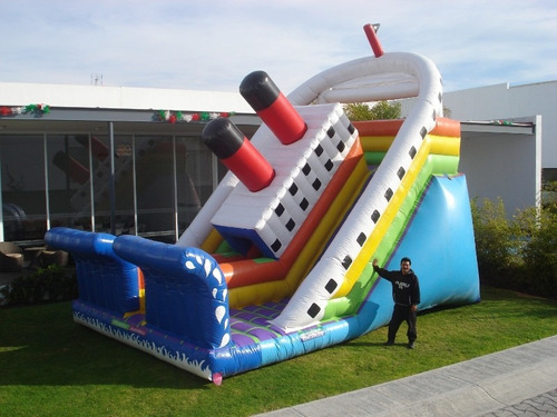 inflable modelo titanic