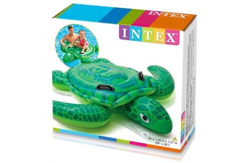 inflable montable de niño tortuga intex