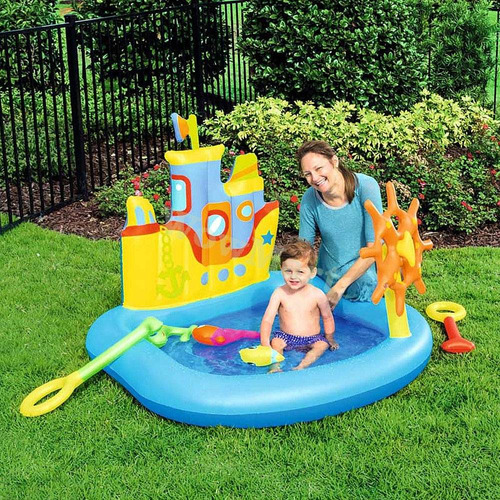 inflable play pileta