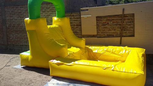 inflable rampa tobogan pileta desmontable