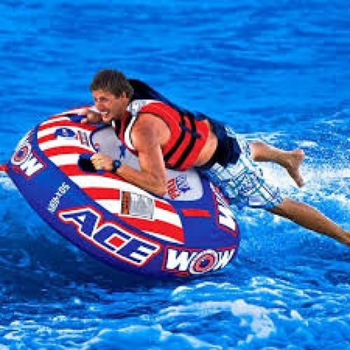 inflable remolcable ski lancha cuerda wakeboard