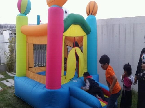 inflable saltarin  con motor
