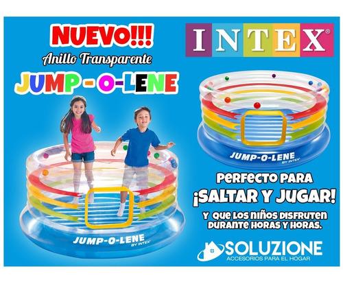 inflable saltarin transparente intex calidad premium