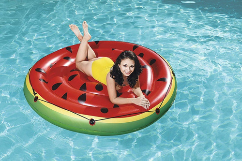 inflable sandia watermelon island bestway (6728)