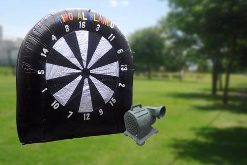 inflable - tiro al blanco - 3 x 3 mts - remate!!