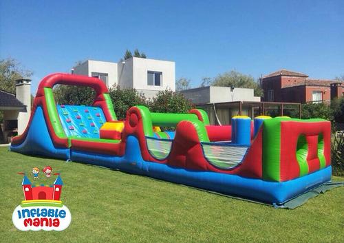 inflablemania - alquiler de inflables - castillos toboganes
