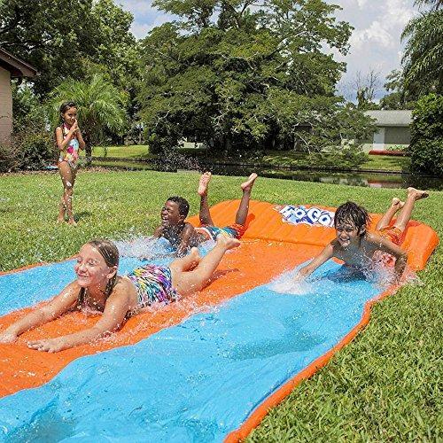inflables agua diapositiva triple nios juegos al aire libre