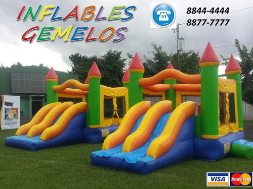 inflables gemelos telefono 8844-4444