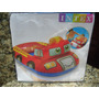 Bote Inflable Para Niños (carro Bombero) 98 X 72cm. 3-6a