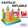 Castillo Inflable Para Niños Ideal Salón O Jardín Nuevos