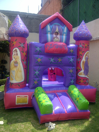 inflables renta, cars, toystory, princesas, monsterhigh, etc