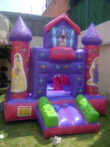 inflables renta, cars, toystory, princesas, monsterhigh, etc