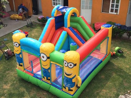 inflables y brincolines en renta