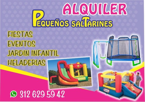 inflables y trampolin