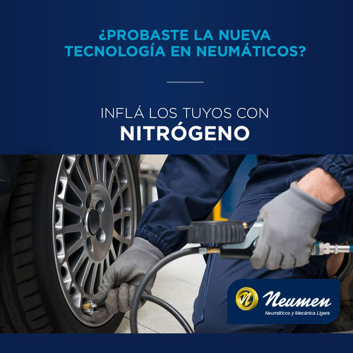 inflado de neumatico con nitrogeno neumen
