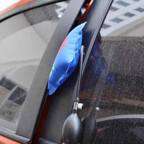 inflador bomba apertura abrir puertas vehículos automotriz