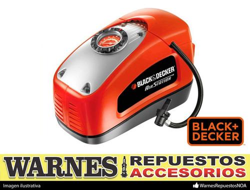 inflador compresor 12v y 220v asi300 black & decker