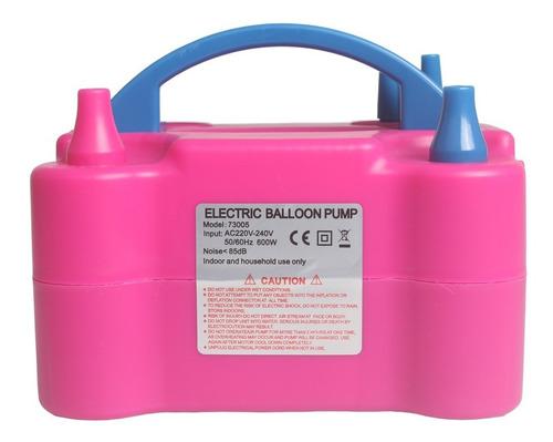 inflador compressor 110v ou 220v bomba balões bexigas festas