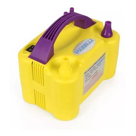 Inflador Compressor Bomba Balões Bexigas Amarelo