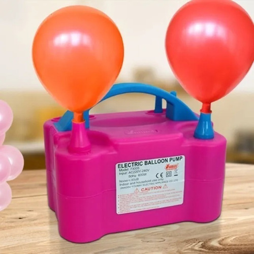 inflador de bombas globos eléctrico decoracion