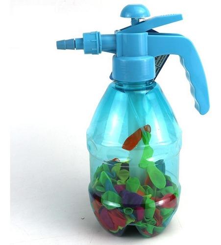inflador de bombitas de agua portatil juego verano playa