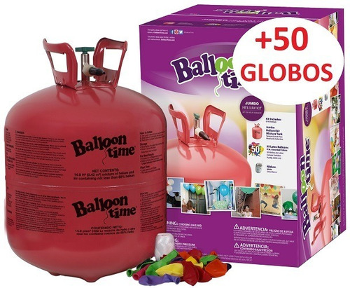 inflador de globos. accesorio para inflar globos. granizados