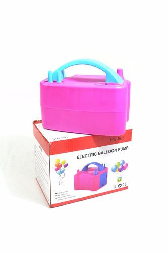 inflador de globos eléctrico 2 inyectores - $ 590
