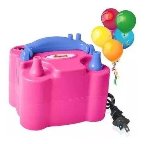 inflador de globos eléctrico 2 inyectores
