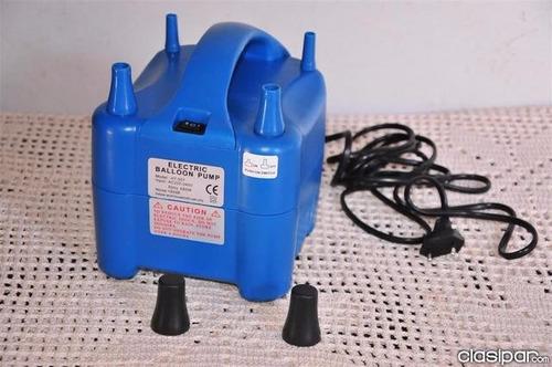 inflador de globos electrico de 4 boquillas envio inmediato