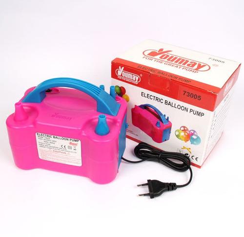 inflador de globos electrico rosado de 600w
