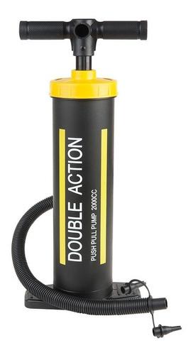 inflador de pie doble accion waterdog 2 lts local palermo