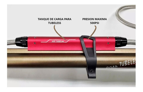 inflador de pie giyo gf-99t - ideal cubiertas tubeless