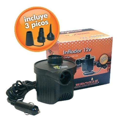 inflador electrico 12v colchon inflable intex bestway carpa