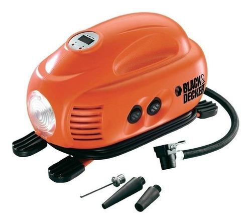 inflador electrico auto 12v black decker 3 picos ramos mejia