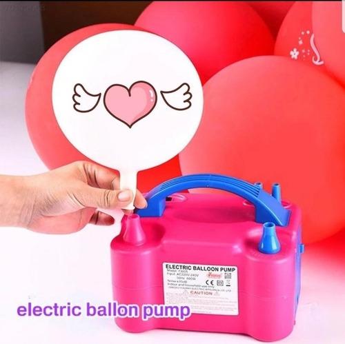 inflador electrico para fiestas globos