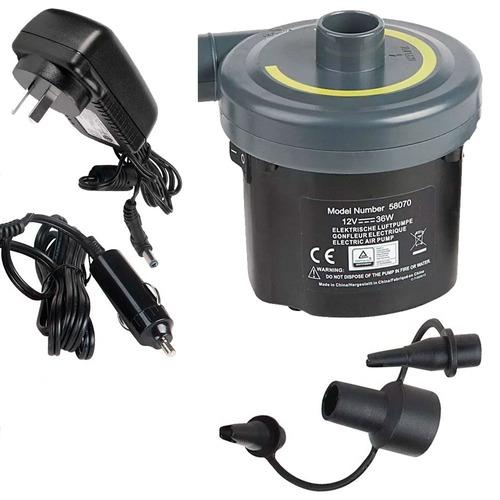 inflador electrico waterdog 220v y 12v colchon inflable