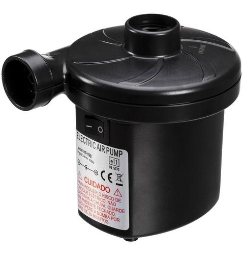 inflador elétrico bomba ar colchão 3 bicos liga 110/220/12v