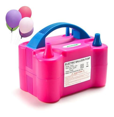 inflador globos eléctrico