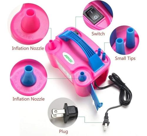 inflador globos eléctrico decoracion