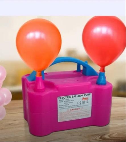 inflador globos eléctrico decoración fiesta