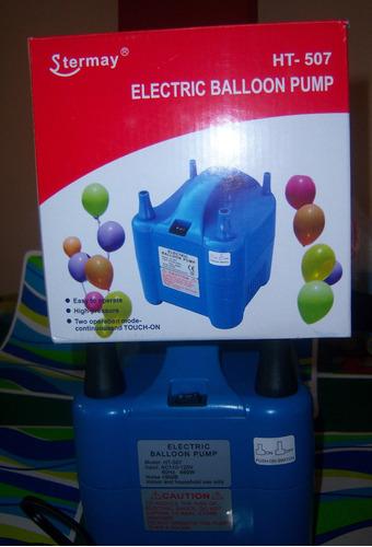 inflador globos electrico multifuncion para eventos, fiestas